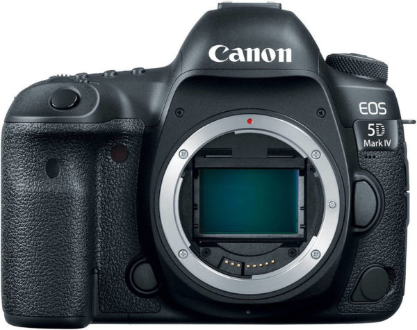 Canon EOS 5D Mark IV DSLR Camera Black With 24-105mm F/4L IS USM Lens