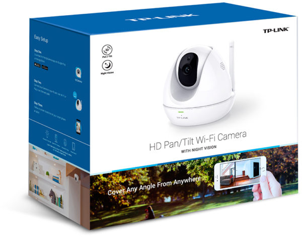 TP-Link NC450 HD Pan & Tilt Night Vision IP Camera