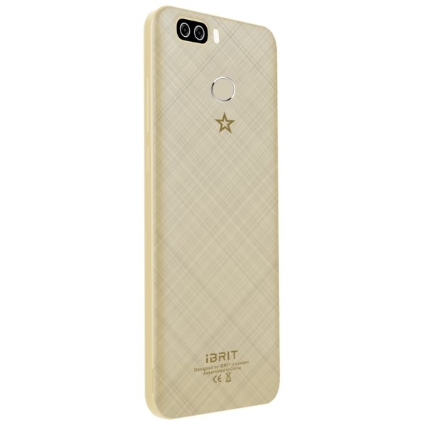 Ibrit SPEED PRO PLUS 32GB Champagne 4G Dual Sim Smartphone + Digital Round Smartwatch