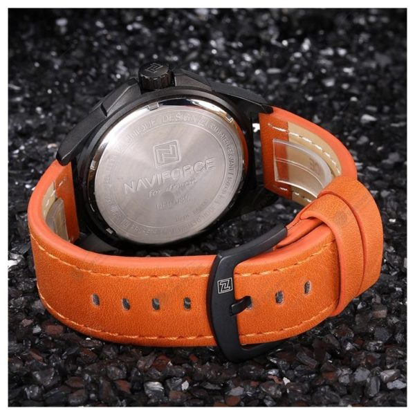 Naviforce Mens Watch Orange NF9103