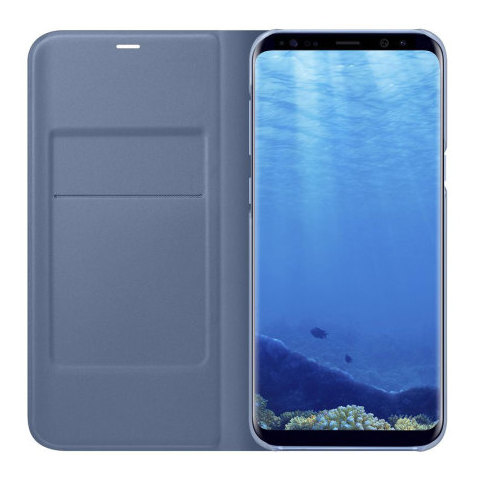 Samsung Flip Cover Blue For Galaxy S8+
