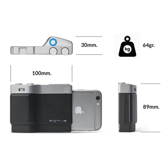Miggo Pictar Camera Grip For Small Smartphone PT-ONE BS 30