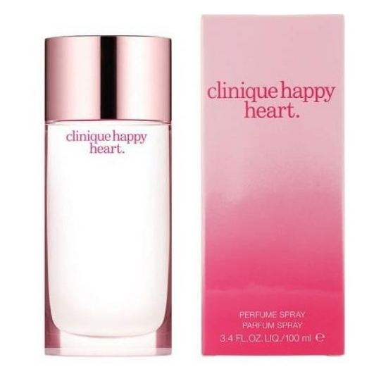 Clinique Happy Perfume For Men 100ml Eau de Toilette + Clinique Happy Heart Perfume For Women 100ml Eau de Toilette
