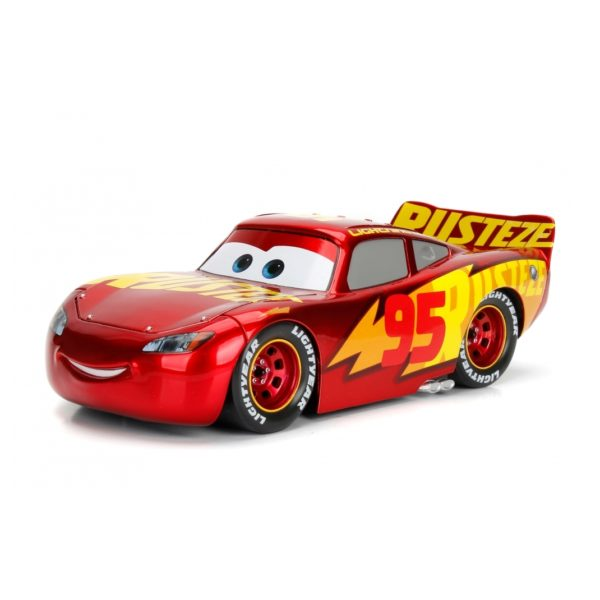 jada 98366 cars 3 lightning mcqueen rusteze diecast 1 24. Black Bedroom Furniture Sets. Home Design Ideas
