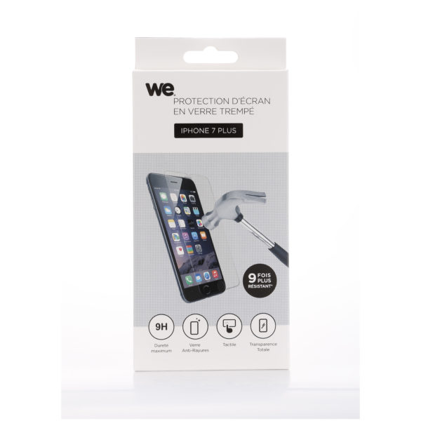 We Tempered Glass Screen Protector For iPhone 7 Plus