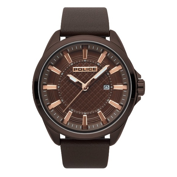 Police P 15408JSBN-12 Checkmate Mens Watch