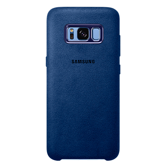 Samsung Alcantara Case Blue For Galaxy S8+ EF-XG955ALEGWW