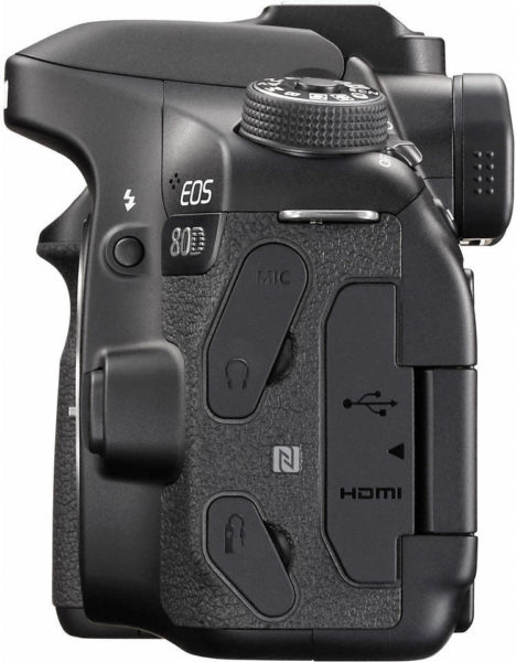 Canon EOS 80D DSLR Camera Black With EFS 18-135mm IS USM Lens