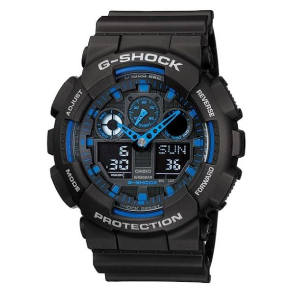 Casio GA-100-1A2 G-Shock Watch