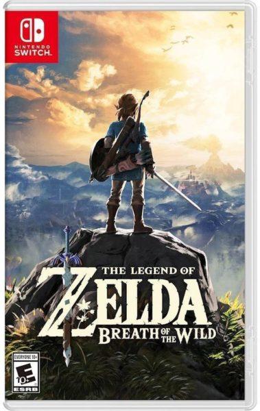 Nintendo Switch The Legend Of Zelda: Breath Of The Wild Game