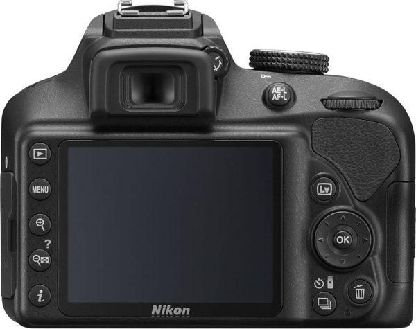 Nikon D3400 DSLR Camera Black With AF-P 18-55mm VR Lens