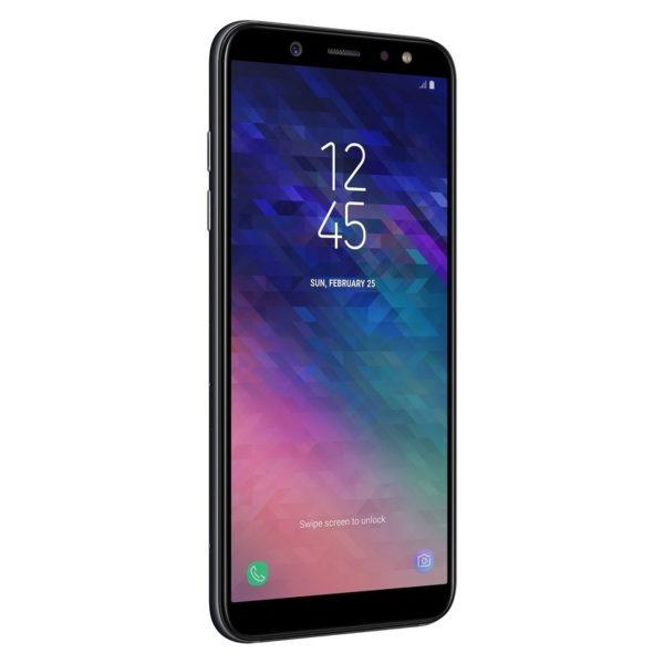 Samsung Galaxy A6 64GB Black 4G LTE Dual Sim Smartphone