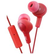JVC Gumy Plus Wired Earphone Red - HAFR6R