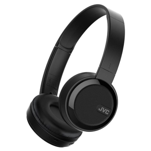 JVC Foldable Bluetooth On Ear Headphone Black HAS40BTB