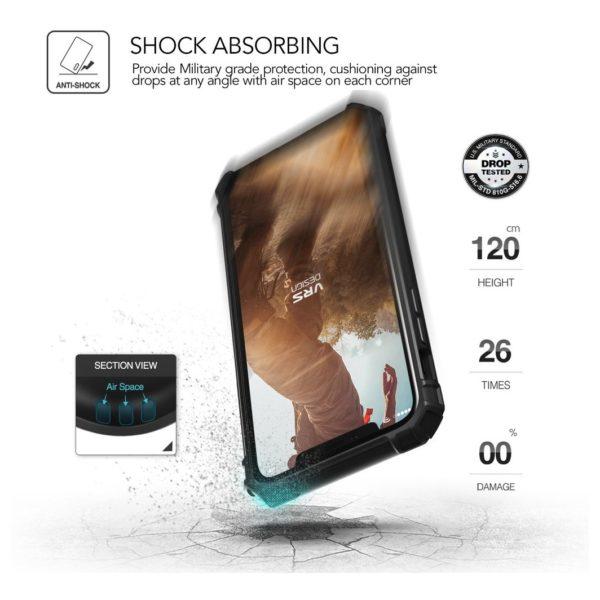 best service 8b1fa 70f7d Buy VRS Design Damda Folder Case Metal Black For iPhone X ...
