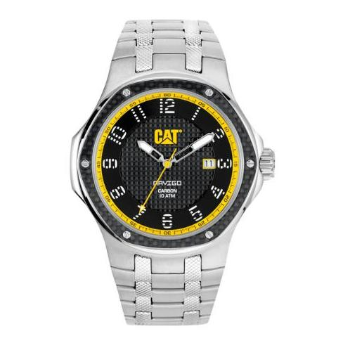 CAT A514111111 Navigo Carbon Date Mens Watch