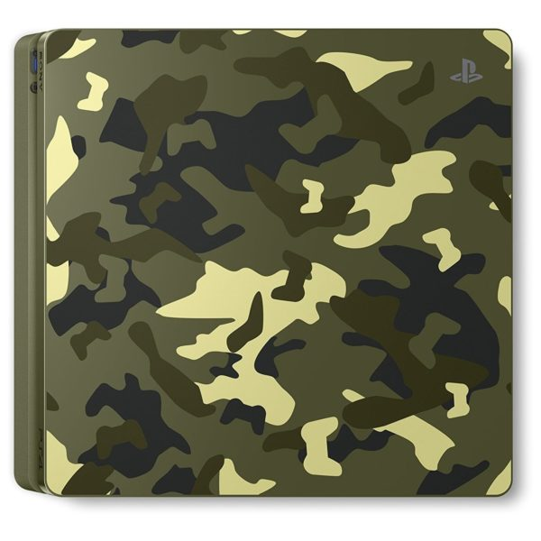 Sony PS4 Slim Console 1TB Camouflage With Call Of Duty WWII Limited Edition Game