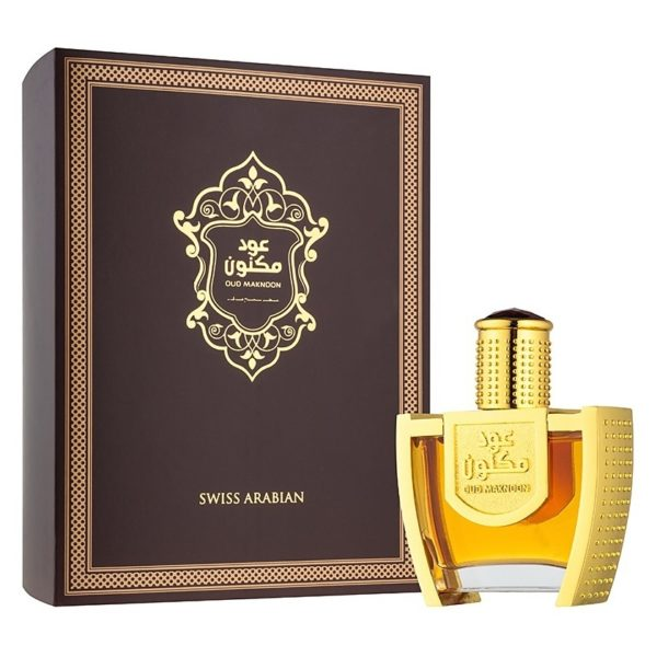 Swiss Arabian Oud Maknoon Perfume 100ml For Unisex Eau de Parfum