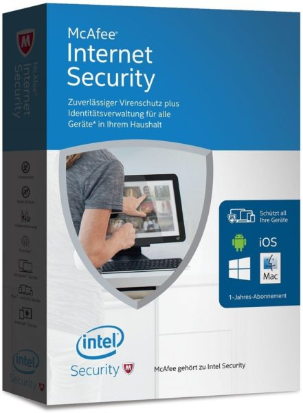 Free Mcafee Internet Security Worth AED 279