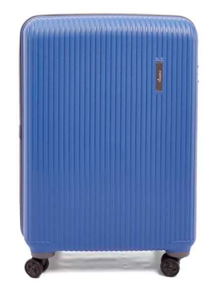 Senator 3 Pcs PP Spinner Luggage Trolley Case Blue