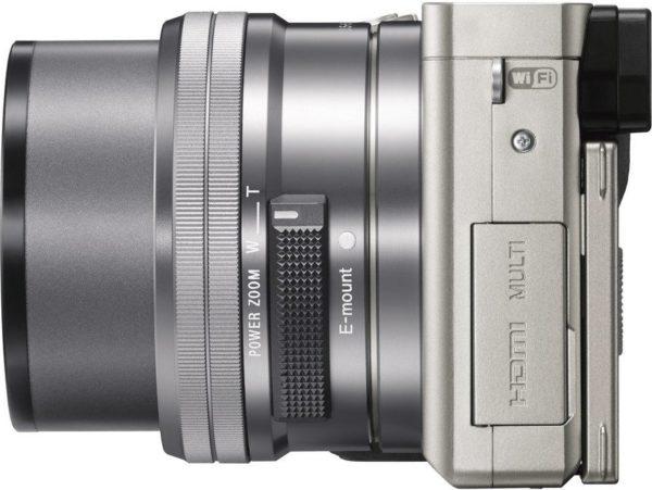 Sony ILCE6000YS A6000 Digital Mirrorless Camera Silver + 16-50mm + 55-210mm Lens
