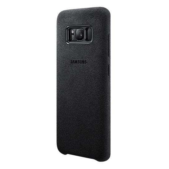 Samsung Alcantara Case Grey For Galaxy S8 EF-XG950ASEGWW