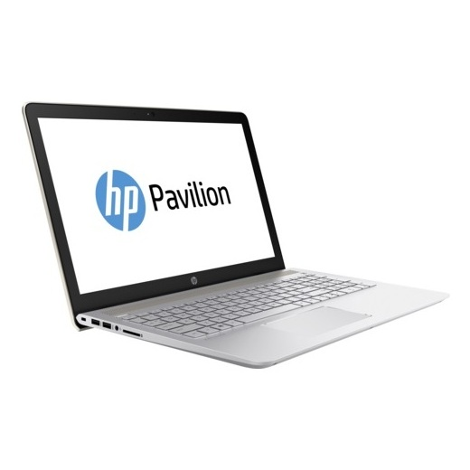 HP Pavilion 15-CC102NE Laptop - Core i7 1.8GHz 12GB 1TB+125GB 4GB Win10 15.6inch FHD Gold