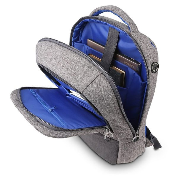Lenovo On Trend Backpack 15.6inch Grey By Nava GX40M52033
