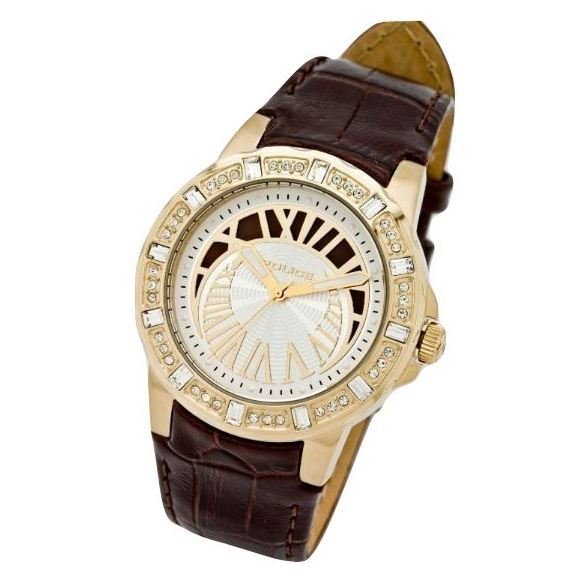 Police P 13197MSG-04 Crescent Ladies Watch