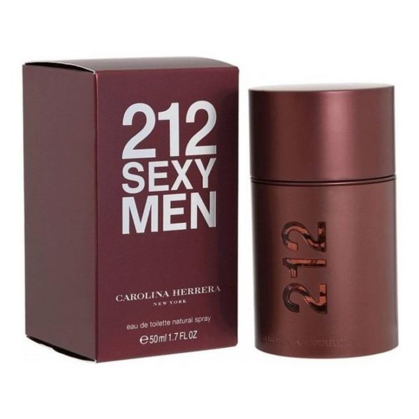 Carolina Herrera 212 Sexy Perfume For Men 50ml Eau de Toilette
