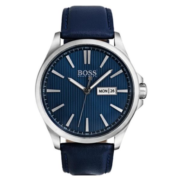 Hugo Boss The James Watch For Men with Blue Leather Strap