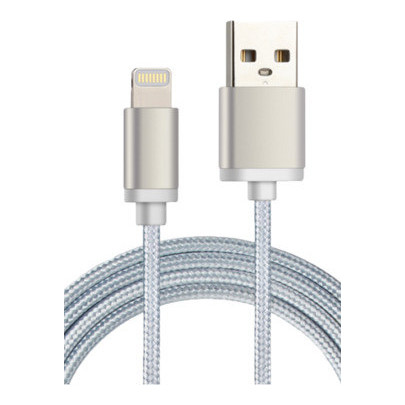Nushh Lightning Cable 1M Silver
