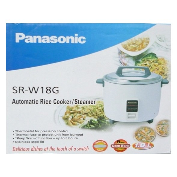 Panasonic Rice Cooker SRW18G