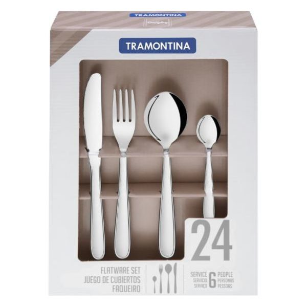 Tramontina 66902005 Cutlery 24pc Set