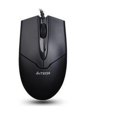 A4tech OP550NU Wired Mouse Black