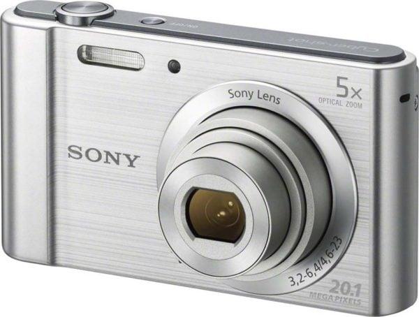 Sony DSCW800 Digital Camera Silver