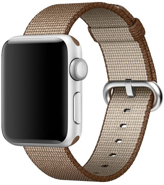 Apple MNK42ZM/A Band 38mm Toasted Coffee/Caramel Woven Nylon
