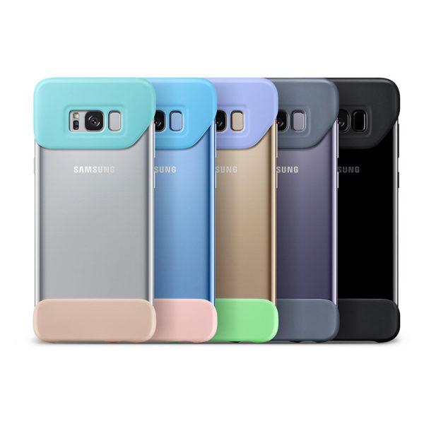 Samsung 2 Piece Case Voilet For Galaxy S8 Plus EF-MG955CVEGWW