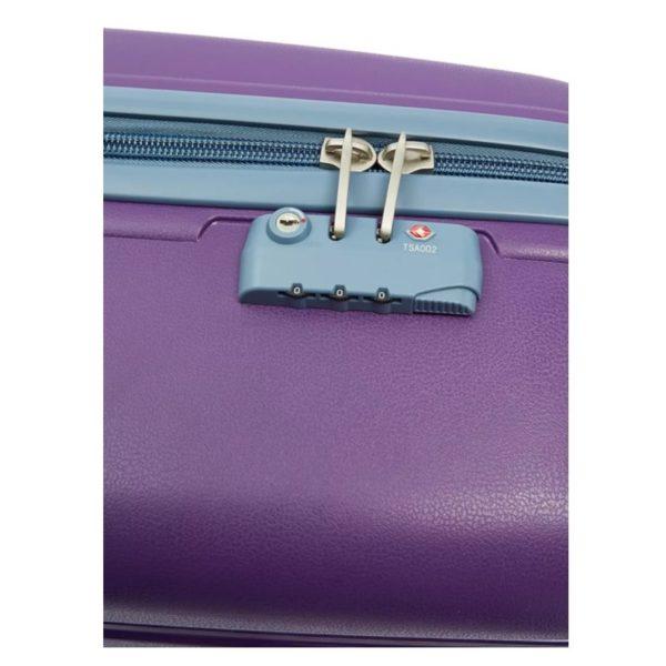 Senator Spinner Trolley Luggage Bag Purple 19inch PPB-19_PPL
