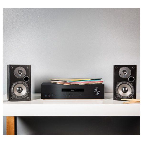 Polk Audio T15 Bookshelf Pair Speaker Black