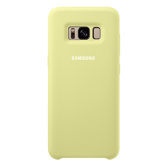 Samsung Silicon Back Cover Green For Galaxy S8