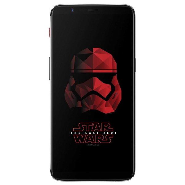 OnePlus 5T (Star Wars Limited Edition) 128GB Sandstone White 4G LTE Dual Sim Smartphone -A5010