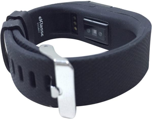 Eklasse EKSB01 Sports Bracelet Black With Heart Rate Monitoring