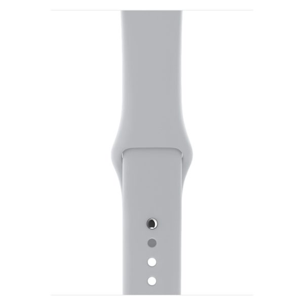 Apple Watch Series 3 GPS - 42mm Silver Aluminium Case with Fog Sport Band