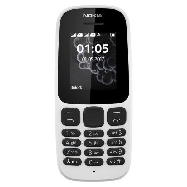 Buy Nokia 105 TA1010 Mobile Phone White – Price