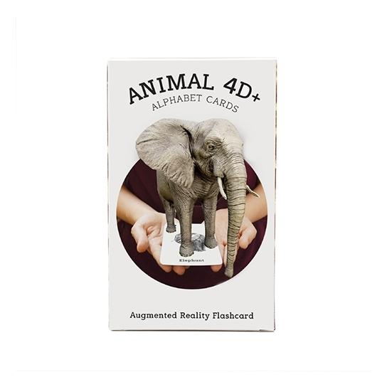 Octagon Studio OSANIMAL4D Animal 4D Plus Card For Kids