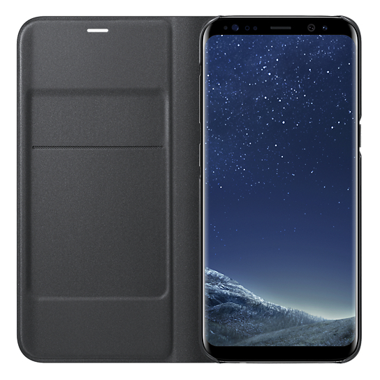 Samsung Flip Cover Black For Galaxy S8+