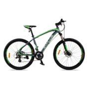 Zyklus Curve 36 Mountain Bike Green/Grey
