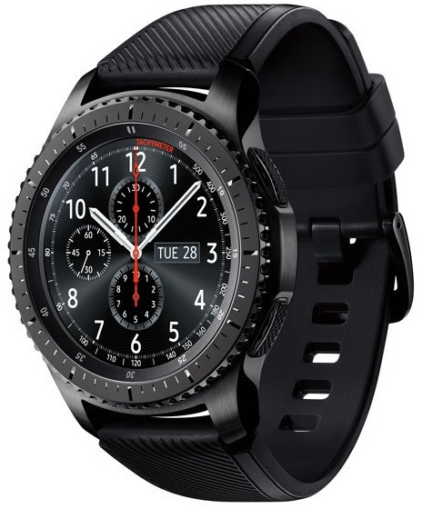 Samsung Galaxy Watch Gear S3 Frontier - Space Grey