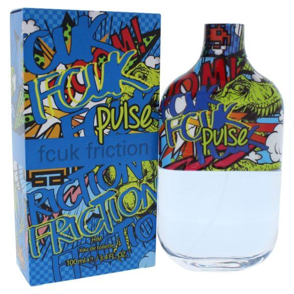 Fcuk Friction Pulse Perfume For Men 100ml Eau de Toilette